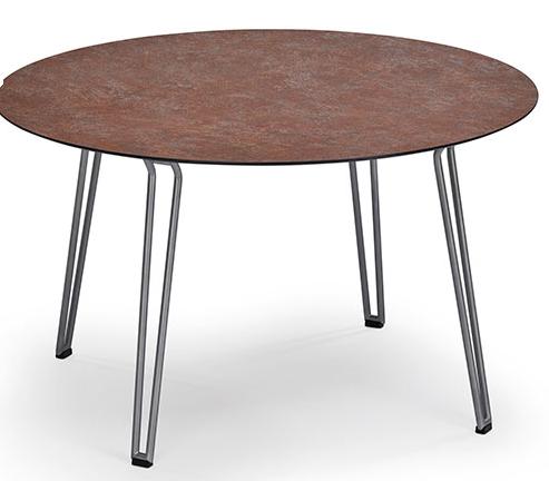 Slope Tisch Teak rund