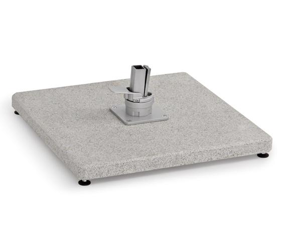 Bodenplatten Freiarmschirm