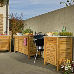 Deck, Terrassenschränke & Co