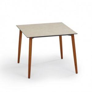 Slope Tisch quadratisch Teak